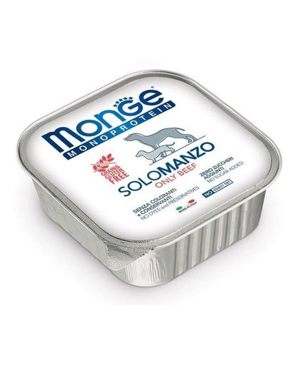 MONGE Dog Monoprotein hrană umedă pentru câini, cu vită 150 g imagine