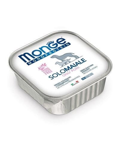 MONGE Dog Monoprotein hrană umedă pentru câini, cu porc 150 g imagine