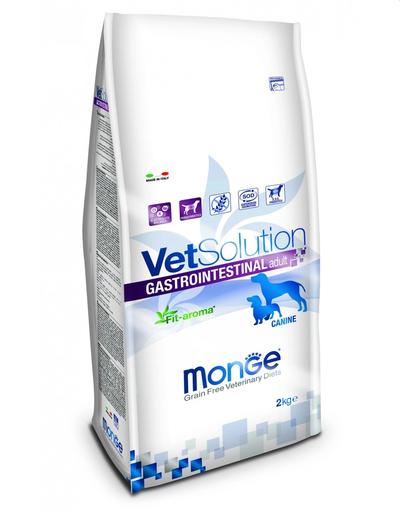 MONGE Vet Solution Dog Gastrointestinal hrană uscată dietetică pentru câini cu probleme gastrointestinale 2 kg imagine