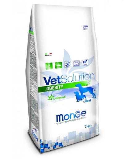 MONGE Vet Solution Dog Obesity hrană uscată dietetică pentru câini cu diabet 2 kg imagine