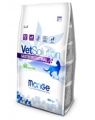 MONGE Vet Solution Cat Gastrointestinal hrană uscată dietetică pentru pisici cu probleme gastrointestinale 400g imagine