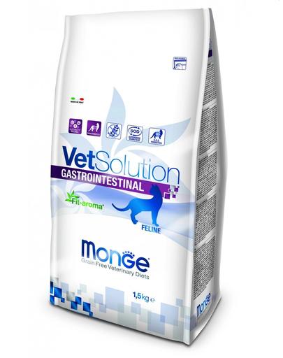 MONGE Vet Solution Cat Gastrointestinal hrană uscată dietetică pentru pisici cu probleme gastrointestinale 1,5 kg imagine