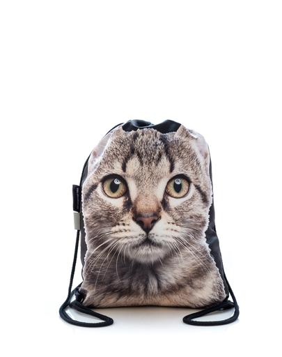 FERA Rucsac cu imprimeu pisică imagine