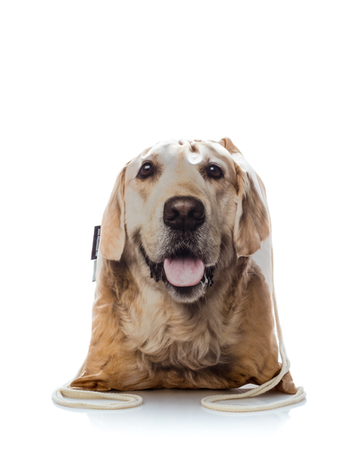 FERA Rucsac cu imprimeu Golden Retriever imagine