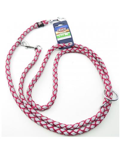TRIXIE Cavo Reflect Lesă reglabilă pentru câini, fuchsia: S–M: 2.00 m/o 12 mm imagine