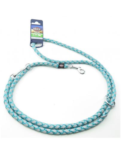 TRIXIE Cavo Reflect Lesă reglabilă pentru câini, albastru: S–M: 2.00 m/o 12 mm imagine