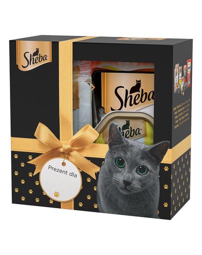 SHEBA Set festiv cu delicii pentru pisici imagine