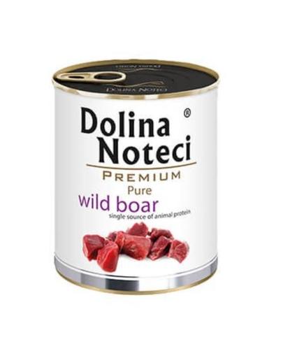 DOLINA NOTECI Premium Pure hrană umedă pentru câini, cu porc mistreț 800g imagine