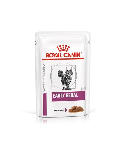 ROYAL CANIN Cat Early Renal hrană umedă pentru pisici cu afecțiuni renale 12 x 85 g imagine
