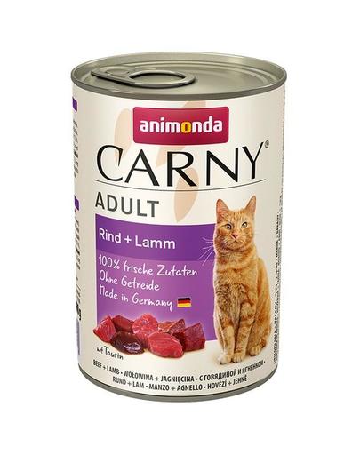 ANIMONDA Carny Adult Vită și Miel 0.4 kg imagine