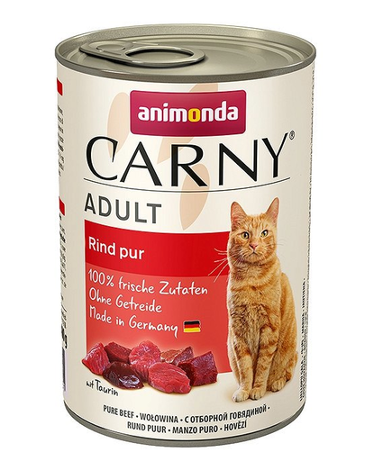 ANIMONDA Carny Adult cu vită 400 g imagine