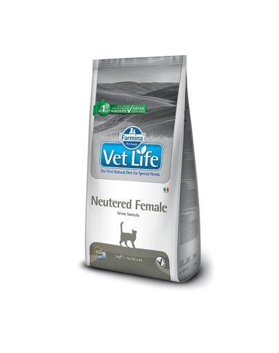 FARMINA Vet Life Cat Neutered Female - pentru femele castrate 10 kg imagine