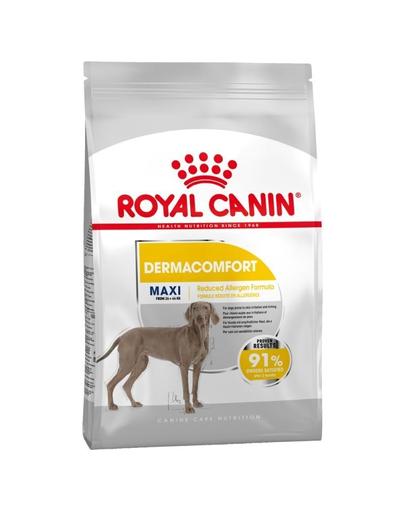 Royal Canin Maxi Dermacomfort hrana uscata caine pentru prevenirea iritatiilor pielii, 3 kg
