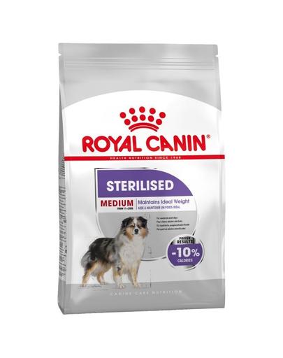 Royal Canin Medium Sterilised Adult hrana uscata caine sterilizat, 3 kg