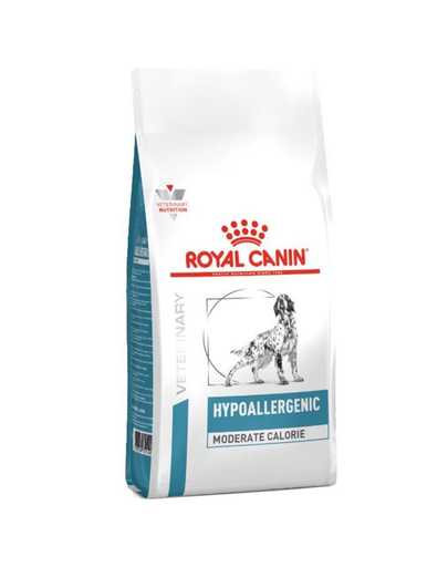 ROYAL CANIN Hypoallergenic Moderate Calorie Canine 14 kg imagine