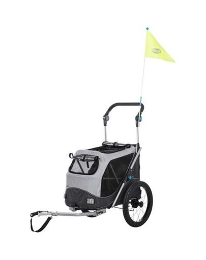TRIXIE Remorcă pentru biciclete pentru câini S 58×93×74 / 114 cm imagine