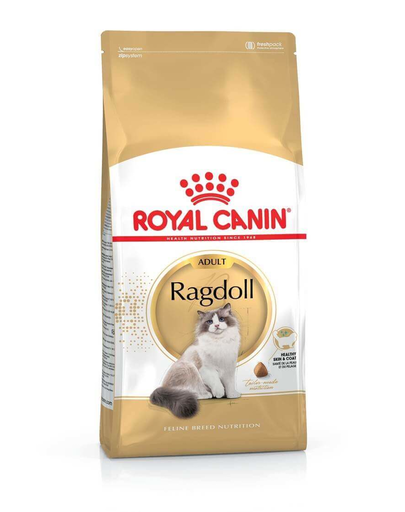 ROYAL CANIN Ragdoll Adult 20 kg (2 x 10 kg) hrană uscată pentru pisici Ragdoll adulte imagine