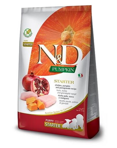 FARMINA N&D Pumpkin All Breeds - Hrană pentru pui de cățel - pentru toate rasele - pui și rodie - 2,5 kg imagine