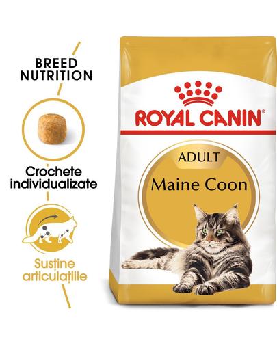 ROYAL CANIN Maine Coon Adult 20 kg (2 x 10 kg) hrană uscată pentru pisici adulte Maine Coon imagine