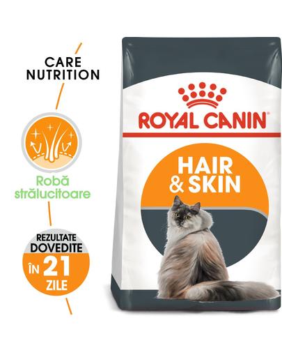 ROYAL CANIN Hair&Skin Care 20 kg (2 x 10 kg) hrană uscată pentru pisici adulte, pentru o blană lucioasă și piele sănătoasă imagine